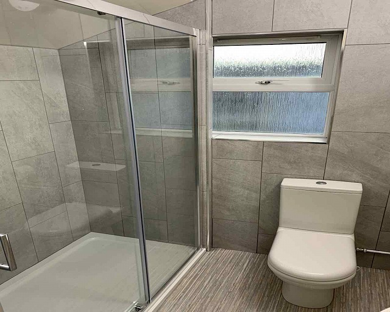 Cartington shower room